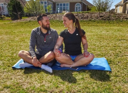 Peaceful Yoga In The Park